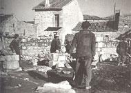 Explotación de las canteras de piedra