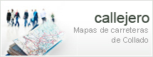 Callejero. Mapas de carreteras de Collado