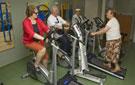 Actividad de gimnasio en el Centro de Mayores