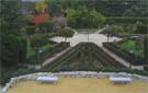 Jardín central renacentista