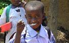 Muchos niños solo comen una vez al día, en el colegio de la Comunidad de las  Hijas de la Caridad