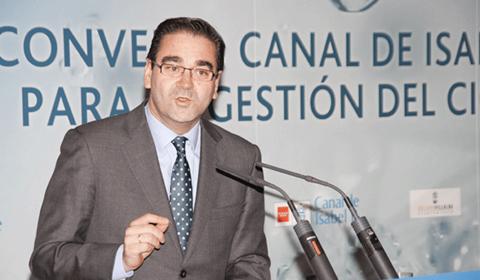 Jo´se Pablo González durante su intervención