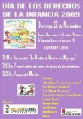 Cartel del Día de los derechos de la infancia