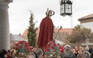 Salida de la Iglesia de la imagen de San Blas