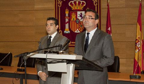 Luis García del Hueso y José Pablo González