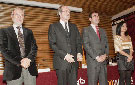 José Macías Velázquez, Ángel Gabilondo, José Pablo González y Beatriz Martín