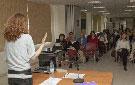 Conferencia de Ursula Martí, experta en violencia de género