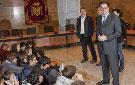 Visita de alumnos al Ayuntamiento