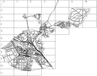 Mapa suelo urbano